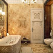 欧式别墅卫生间奢华装饰