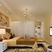 现代素雅的卧室