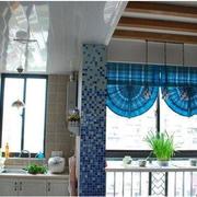 地中海风格厨房清新窗户装饰
