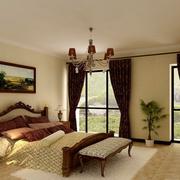 别墅美欧式卧室