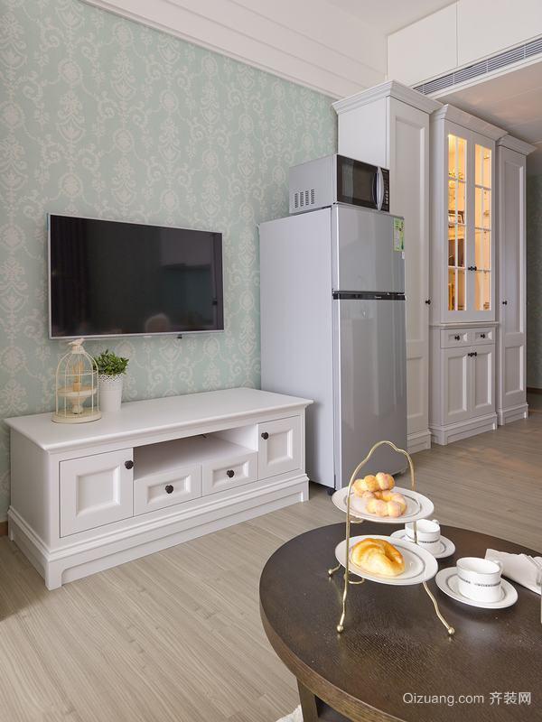 美式单身公寓装修风格效果图