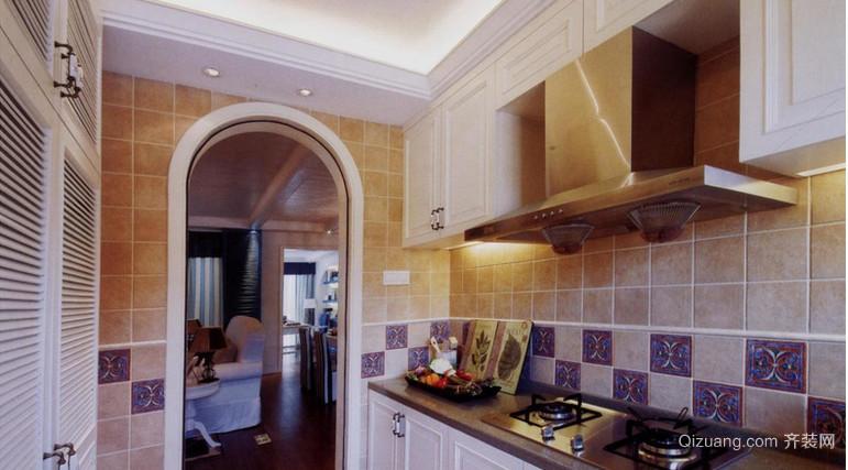 2015地中海风格厨房装修效果图