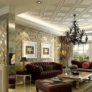 婚房客厅吊顶设计