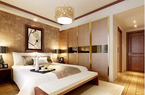 欧式风格简约卧室壁纸装饰