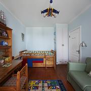 现代美式儿童卧室