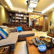 东南亚客厅简约风格装饰