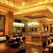 饭店简约风格吧台装饰效果图