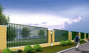 2015时尚围墙栏杆设计装修效果图