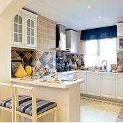 地中海风格厨房简约吧台装饰