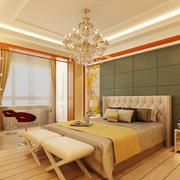 欧式风格奢华亮色壁纸装饰