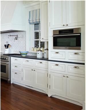 美式乡村小厨房装修效果图
