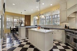 欧式复古厨房装修效果图