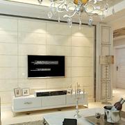 复式楼欧式简约风格电视背景墙