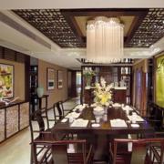 新中式风格餐厅欣赏