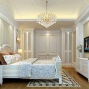 白色纯洁的卧室吊顶