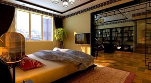 别墅中式卧室欣赏