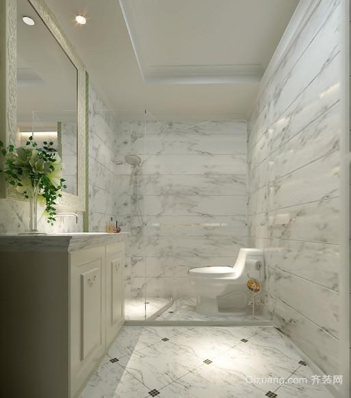 120平米两居室北欧风格卫生间装修效果图