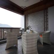 东南亚风格简约阳台装饰