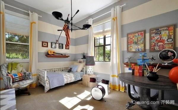 美式儿童房装修风格效果图