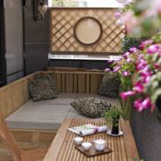 日式简约风格禅意阳台装饰