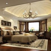 卧室豪华吊顶欣赏
