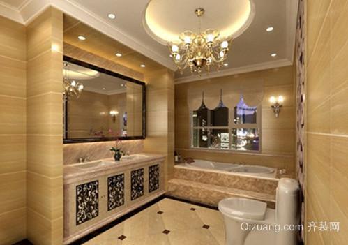 全新巴洛克风格两室一厅一卫卫生间装修