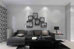 2015时尚客厅大理石茶几装修效果图