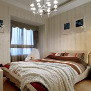 北欧风格卧室石膏板吊顶装饰