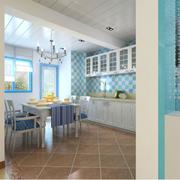 整体式厨房餐厅装饰