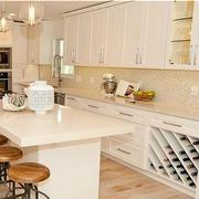 东南亚白色奢华厨房橱柜装饰