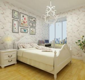 2015儿童卧室实木床装修设计效果图