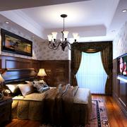宜家深色系的卧室