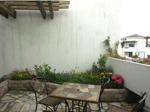 地中海风格露台花园设计装修效果图
