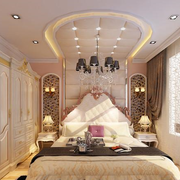 欧式风格卧室奢华布置