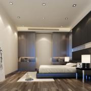 后现代风格卧室吊顶装饰
