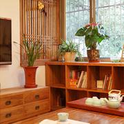 日式简约风格电视柜装饰