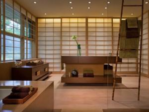 日式风情的客厅图片