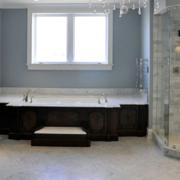 现代美式卫生间欣赏