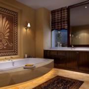 卫生间舒适浴缸欣赏