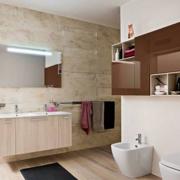 卫生间防水小型浴室柜