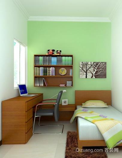 2015小户型儿童卧室书桌装修效果图