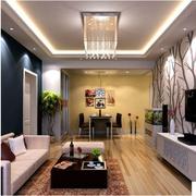 简约客厅水晶灯欣赏