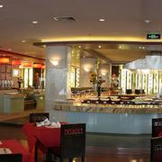 欧式奢华风格饭店吧台装饰