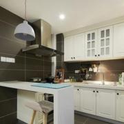 厨房简约风格吧台装饰