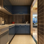 后现代风格厨房瓷砖装饰