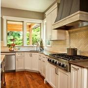 法式厨房地板装饰效果图