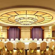 大型欧式饭店包间设计