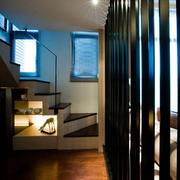 别墅简约现代化楼梯