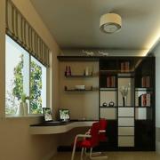 后现代风格书房窗户装饰
