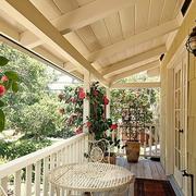 田园美式小阳台设计